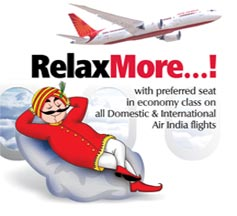 Airindia online check in